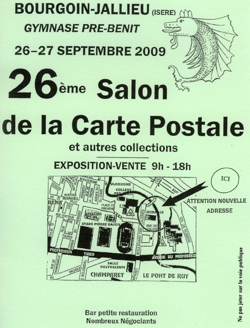 Forums lr presse voir le sujet 26 salon de la carte for Salon carte postale