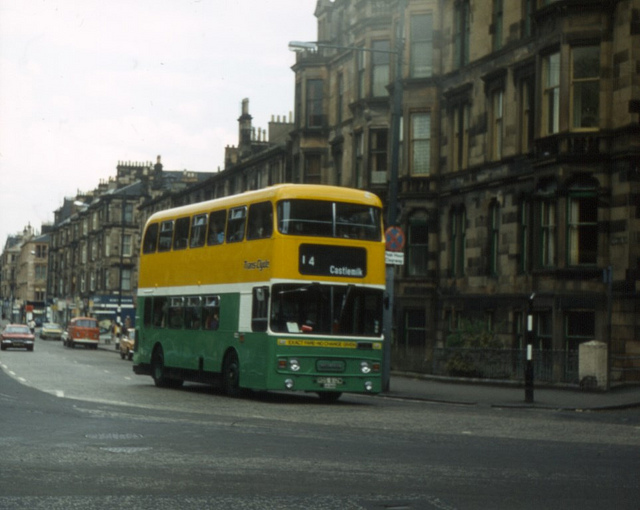 Double Decker Buses in Glasgow, ca. 1970's - 80's (2).jpg