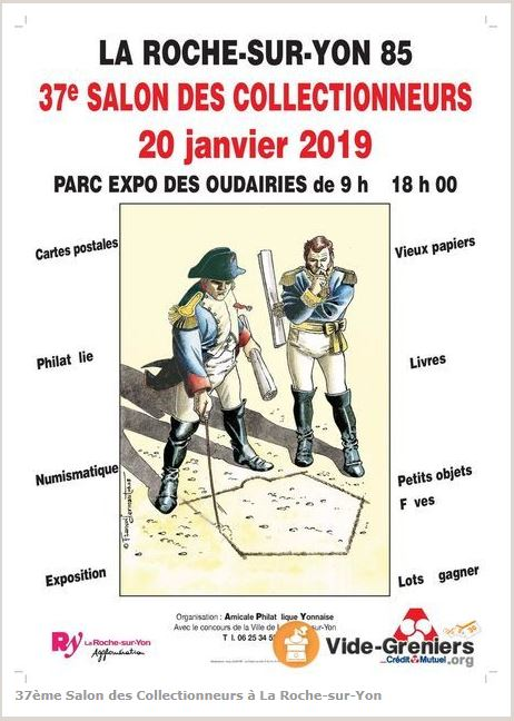 Affiche La Roche sur Yon - Salon Collectionneurs Jan 2019.JPG