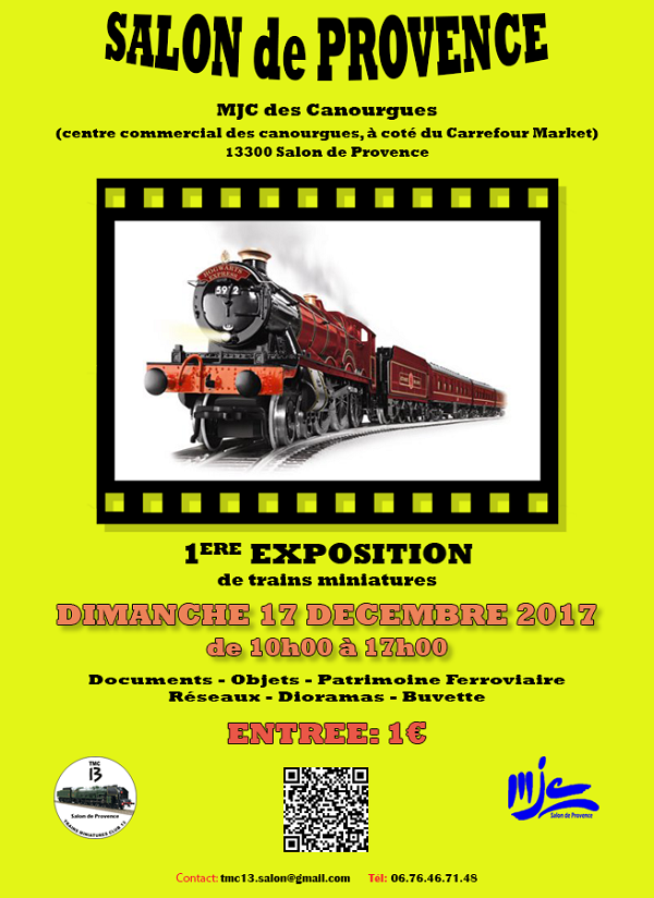 Forums lr presse voir le sujet animation exposition - Train salon de provence ...